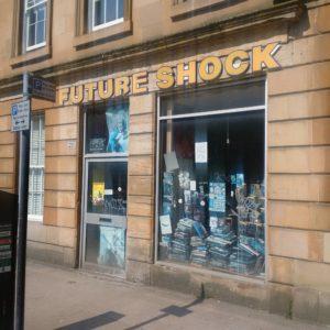 Comic Laden auf der Eldon Road